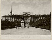 The Michael Palace in Saint Petersburg. Anonymous . Photograph. Between 1908 and 1912. Russia. Private Collection. Architecture, Interior,Landscape.