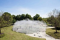 2013 Serpentine Gallery Summer Pavilion designed by Japanese architect Sou Fujimoto. The delicate structure will sit in Kensington Gardens for the sum...