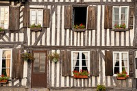 Old buildings; Blangy-le-Chateau, Normandy, France