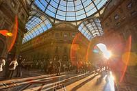 Vittorio Emanuele II gallery, Milan, Italy.