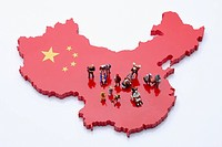 toy people on China