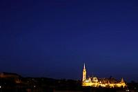 Budapest skyline with Matthias Church, Budapest, Hungary.