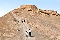 Asia, Iran, Yazd; Silence tower.