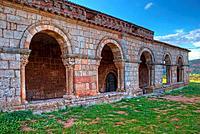 Santa Maria de Tiermes Romanesque Chapel (12th Century). Montejo de Tiermes. Soria Province. Castilla y Leon. Spain.