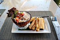 """""""""""Kokoda"""", typical dish from Fiji, Viti Levu, Fiji."