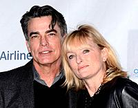 Peter Gallagher and Paula Wildash - Beverly Hills/California/United States - 8TH ANNUAL OSCAR WILDE HONORING THE IRISH IN FILM PRE ACADEMY AWARDS EVEN...