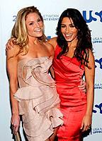 Virginia Williams and Sarah Shahi - New York/New York /USA - USA NETWORK 2011 UPFRONT