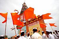 Pundalik temple solapur Pandarpur Maharashtra India Asia
