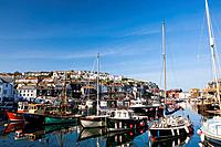 harbor of Mevagissey, United Kingdom, Cornwall, Mevagissey