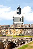 Fort San Felipe del Morro, Puerto Rico, Old San Juan, San Juan, Greater Antilles, United States