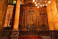 Egypt, Cairo. Mohammed Ali Mosque. Indoors. - Ägypten, 01/01/2011