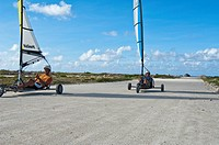 Landsailing on Bonaire - 01/01/2011