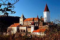 Czech republic,Krivoklatsko, castle Krivoklat