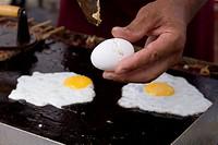 Fried egg, Sabara, Minas Gerais, Brazil.