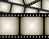 abstract filmstrip