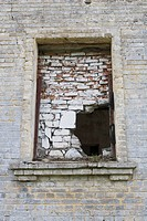 Bricked-up window