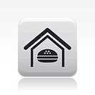 Vector illustration of isolated fast-food icon