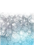 Elegant christmas with snowflakes. EPS 8