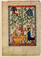 (From the Codex Manesse), Between 1305 and 1340. Found in the collection of the Library of the Ruprecht Karl University, Heidelberg.