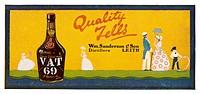 Vat 69 - Quality Tells