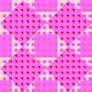 geometric pink seamless pattern