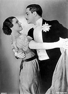 PAULA WESSELY German actress and later producer, seen here with Anton Walbrook (Adolf Wohlbruck) in 'Maskerade' (1934)