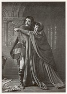 Matheson Lang as Macbeth & Hilda Britton as Lady Macbeth