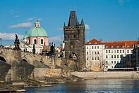 Czech Republic,Prague, Charles Bridge in Old Town,