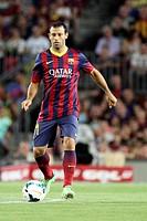 FC Barcelona. Mascherano in action.