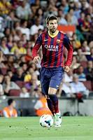 FC Barcelona. Gerard Piqué in action.
