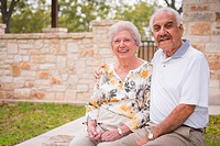 USA, Texas, Portrait of senior couple