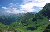 mountains - Vorarlberg; Montafon, Austria, 16/09/2008