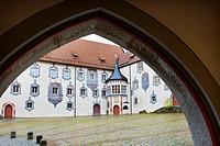 Germany, Bavaria, Fussen, Hohes Schloss.