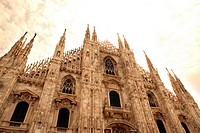 The Duomo in Milano, Italy, Europe.