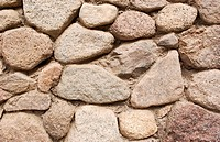 Wall texture with stones