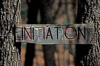 Schild, Parc Animalier, Vinon sur Verdon, Frankreich - Sign, Parc Animalier, Vinon sur Verdon, France