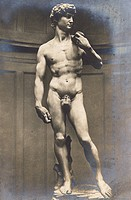 Michaelangelo's Statue of David - Florence, Italy