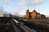 Battersea power station - London, England.