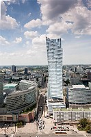 Warsaw, Poland´s capital is again being transformed beyond recognition. A city that barely 50 years ago had 80% of its buildings