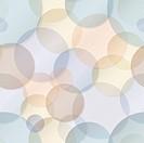 Seamless pattern - rainbow circles