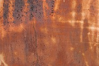 Old weathered rusty tin surface as background
