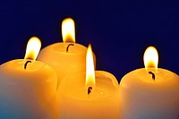 Candles of Advent.