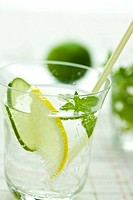 Soda with Lemon and Lime