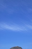 Blue Sky Over Rock