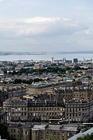 UK, Scotland, Edinburgh, city view
