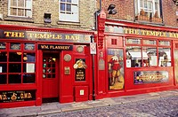 Temple Bar neighborhood is the most popular in Dublin, Republic of Ireland