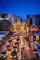 Christmas time, Reykjavik, Iceland.