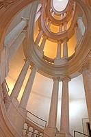 Staircase Barberini Palace, Palazzo Barberini (Galleria Nazionale d´Arte Antica) in Rome, Italy.