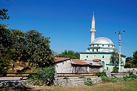 Mosque near Dalyan village in Turkey.