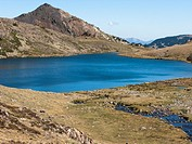 Lac de Trebens by the Carlit mountain, Capcir, Pyrenees-Orientales, France